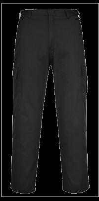 Spodnie Combat z kieszeniami na nakolanniki
