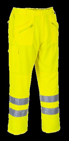 Spodnie bojówki ostrzegawcze
